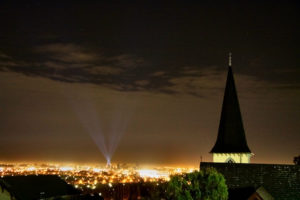 Lights Over Christchurch Tindall